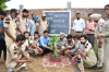 15th-August Celebration (Plantation by S.H.O. of Badshahpur)